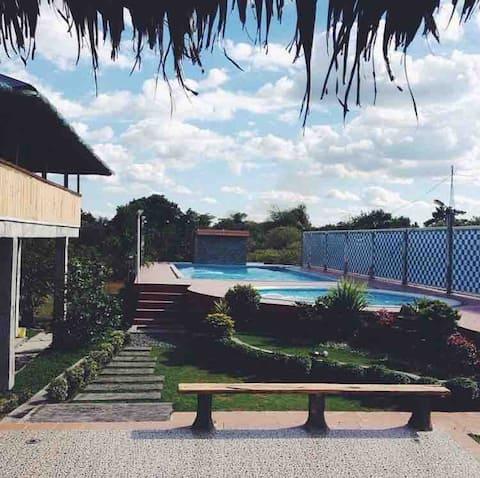 Poolhaus near Monasterio de Tarlac and TRP