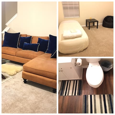 ATL MASTER SUITE WITH PRIVATE BATHROOM