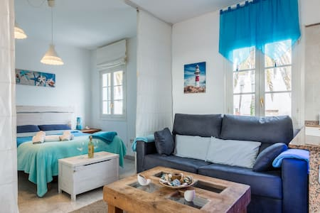 Acogedor y cèntrico apartamento