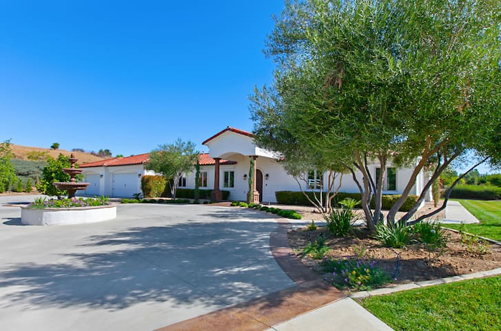 """New! """"Upscale Tuscan Style Estate in Wine Country"""""""