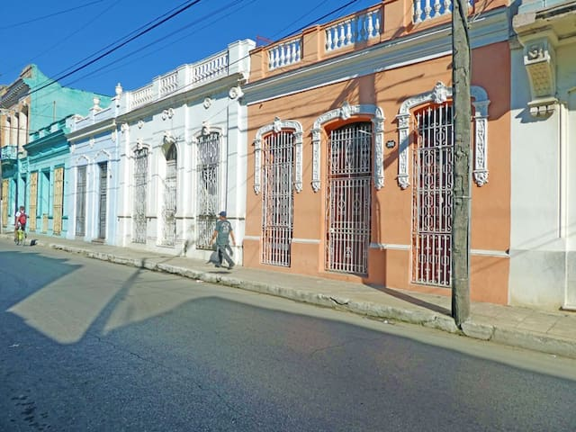 Casa El Viajero - Room 1 - Elegant Colonial Home - Camagüey - Talo