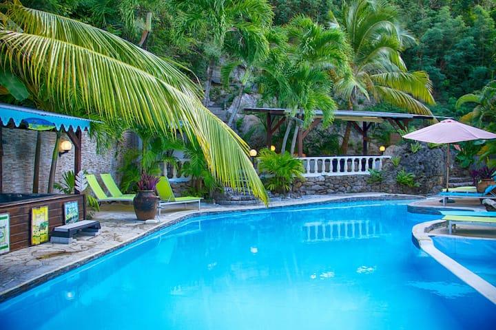 Villa Paradis 22 pers-Piscine & Spa 400m de la Mer