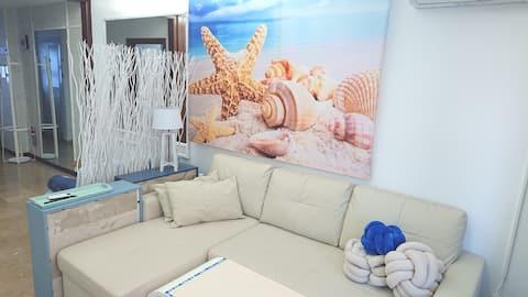 Studio 50 m to beach Altea comfie and functional