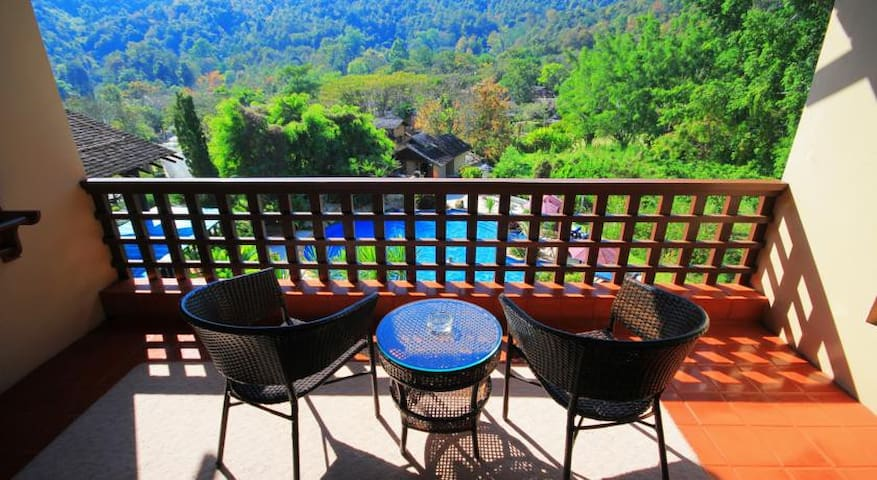 Superb View Classic room in the North Chiang Mai - Tambon Tha Wang Tan - Huoneisto