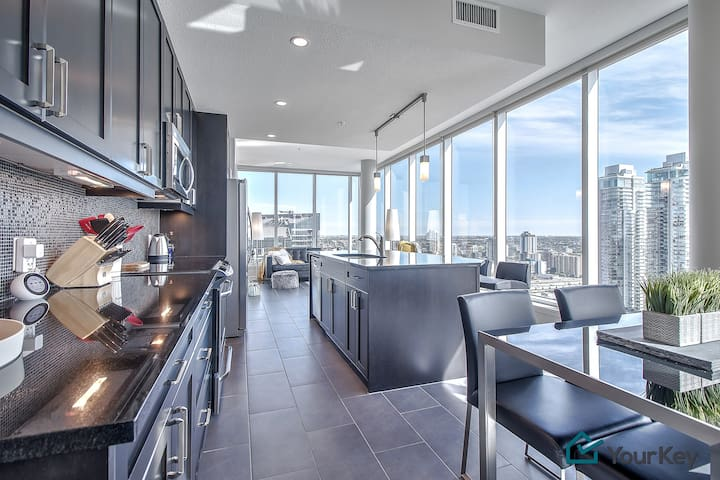 27th Floor Views & Privacy. Close to Everything!