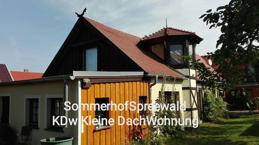 kDW Sommerhof - Kleine Dach-Wohnung - Lübbenau/Spreewald, Brandenburg, DE - Rumah