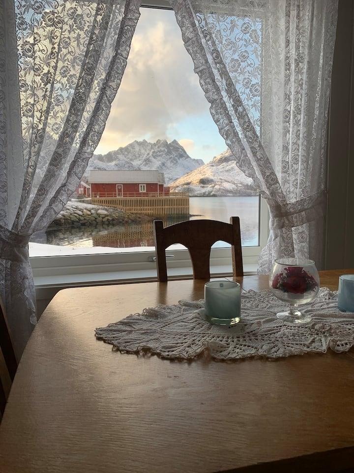 Apartment in fishery, Lofoten