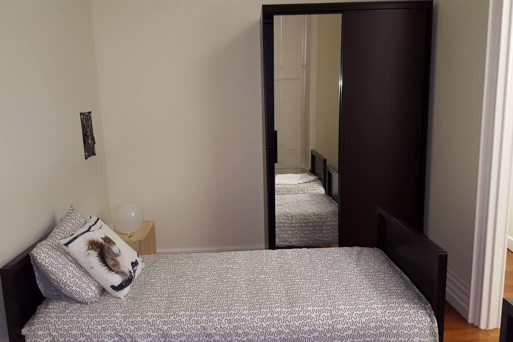 Quarto 1 - duas camas