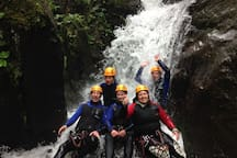 canyoning with me as a Guide