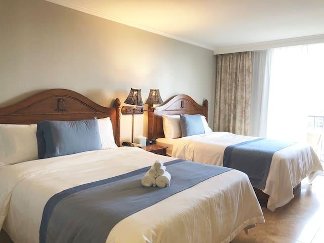 Luana Waikiki hotel- Ocean View & high floors
