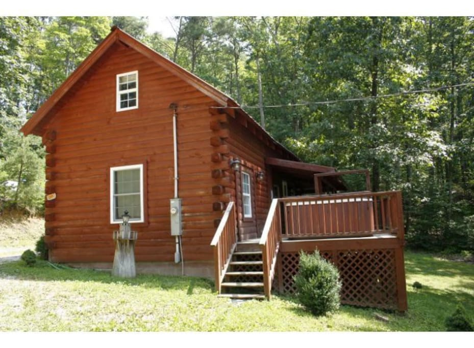 Turkey cove cabin cabins for rent in stanton kentucky for Kentucky cabins rentals