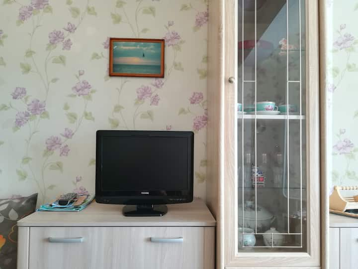 Квартира на Мира, светлая и уютная