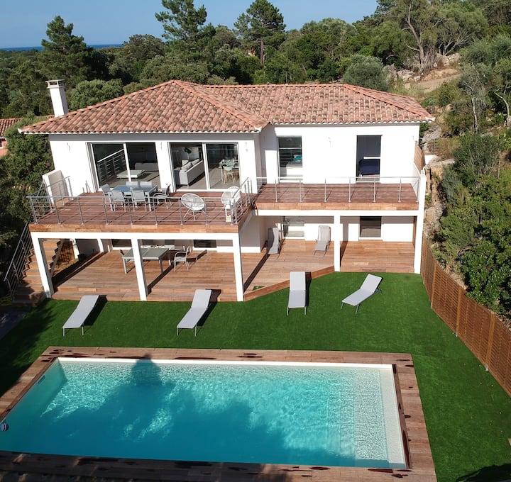 Pinarello villa 150m2 proche de la plage