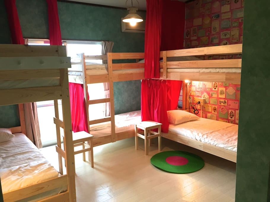 BunkBed Room for 6people