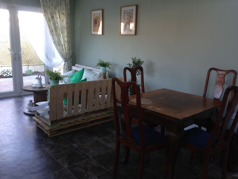 Kitchen/ ( dining and coffee area)