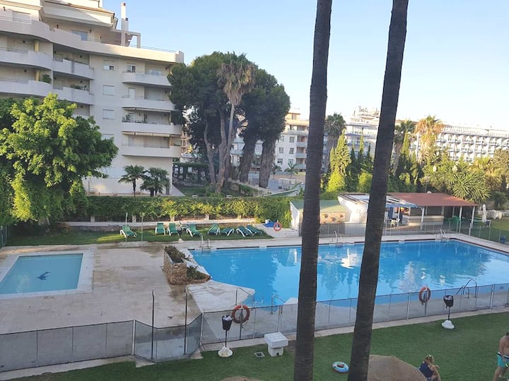 Best located holiday apartment in Benalmadena