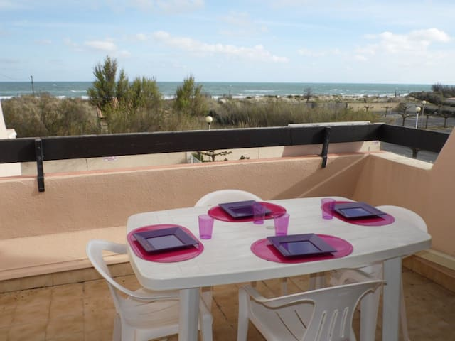 Logement vue mer accès à la plage - Marseillan - Lägenhet