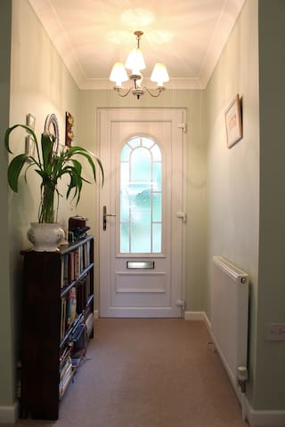 Hall with private entrance