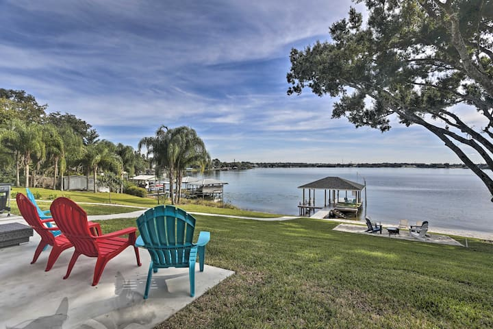 NEW! Newly Built Lake June Oasis w/ Beach & Dock!