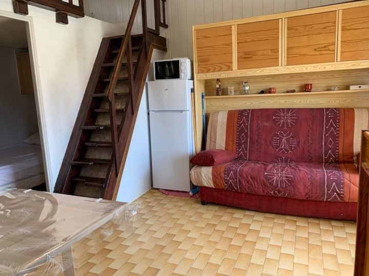 Authentic Studio for 4 to 5 people in Cap d'Agde