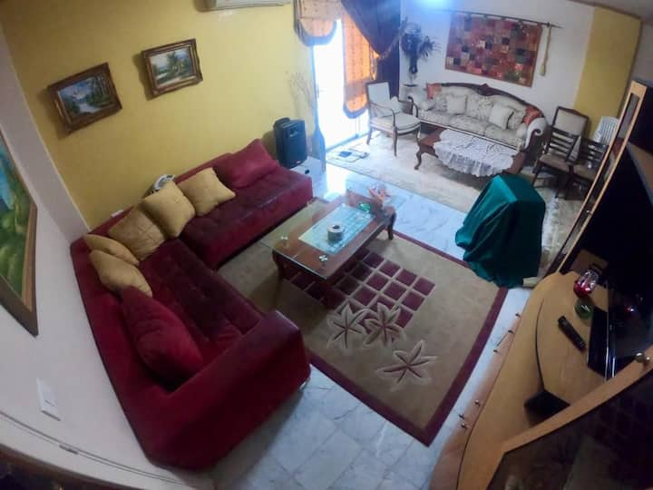 Fully furnished apartment in biaqout