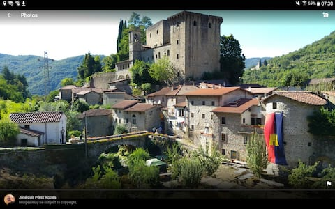 Stone house in beautiful medieval borgo.