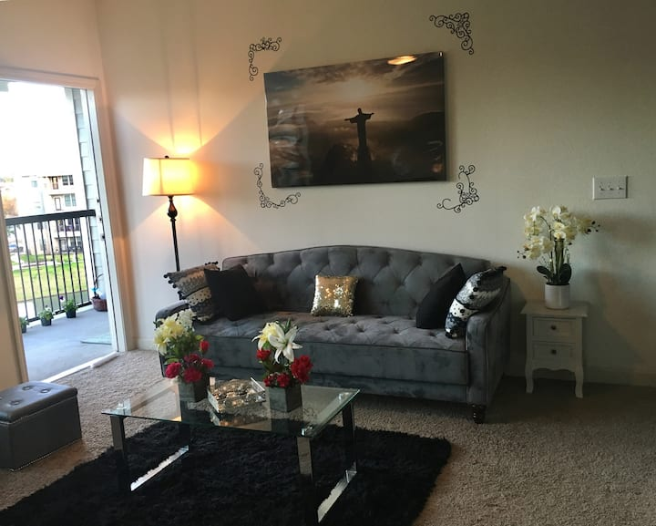 Beautiful, clean apartment with amenities