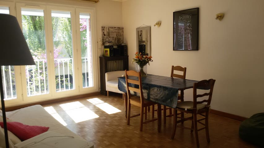 Double Bed in a Beautiful Apartment near Paris - Montrouge - Apartament