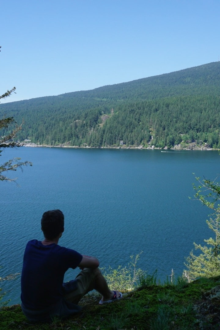 Lookout over Indian Arm