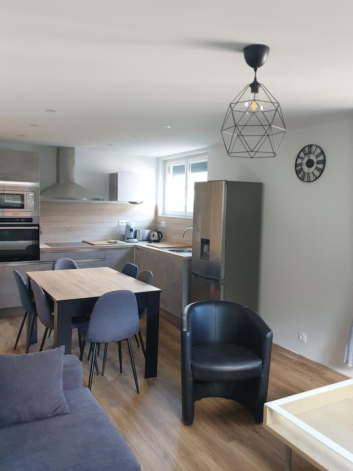 Métabief : joli appartement calme et confortable