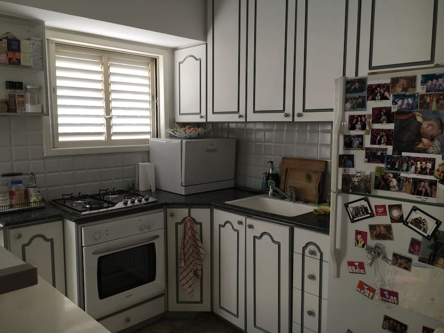 well equipped kitchen with all appliances (including nespresso, dishwasher, washing macine)