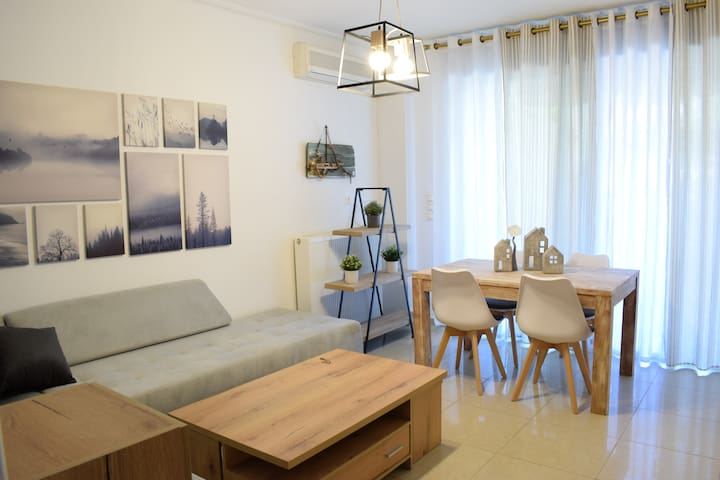 Cozy and quiet apartment 4 min from metro station