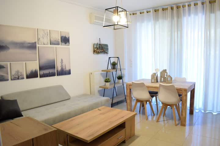 Cozy apartment with garden 4 min from metro