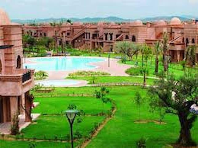 Belle Résidence (piscines & golf) - Marrakesh - Apartamento