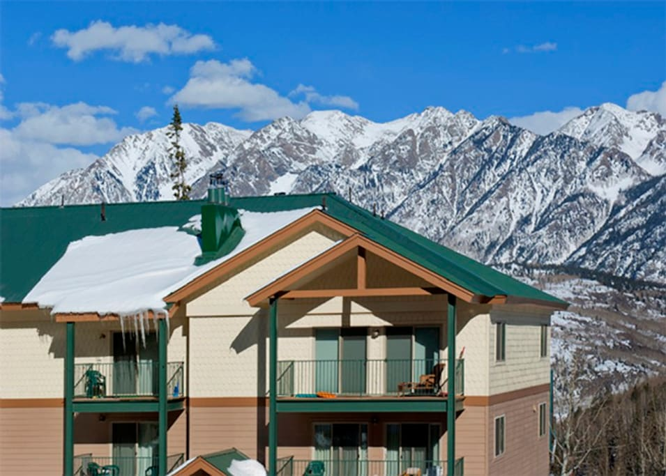 Purgatory Townhomes and Wes Needles Mountains Durango
