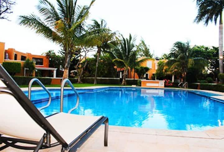 Pok ta pok Cancun happy place (unit #1)