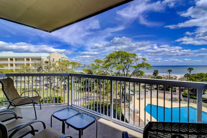 404 Barrington Arms | 3 Bedroom  Oceanfront Villa in Palmetto Dune