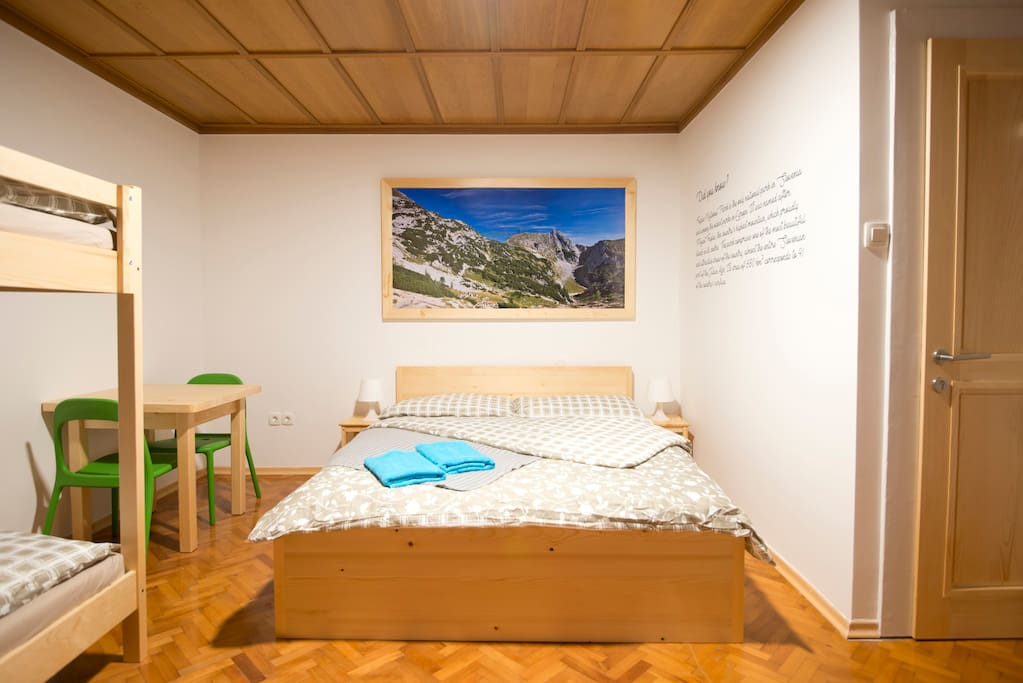 "Room ""Triglav national park"""
