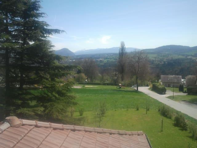 Duplex a la campagne proche de Geneve et d Annecy - Contamine-Sarzin - Huoneisto
