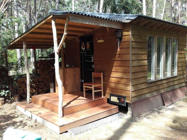 Warm, rustig eco tiny house op wielen