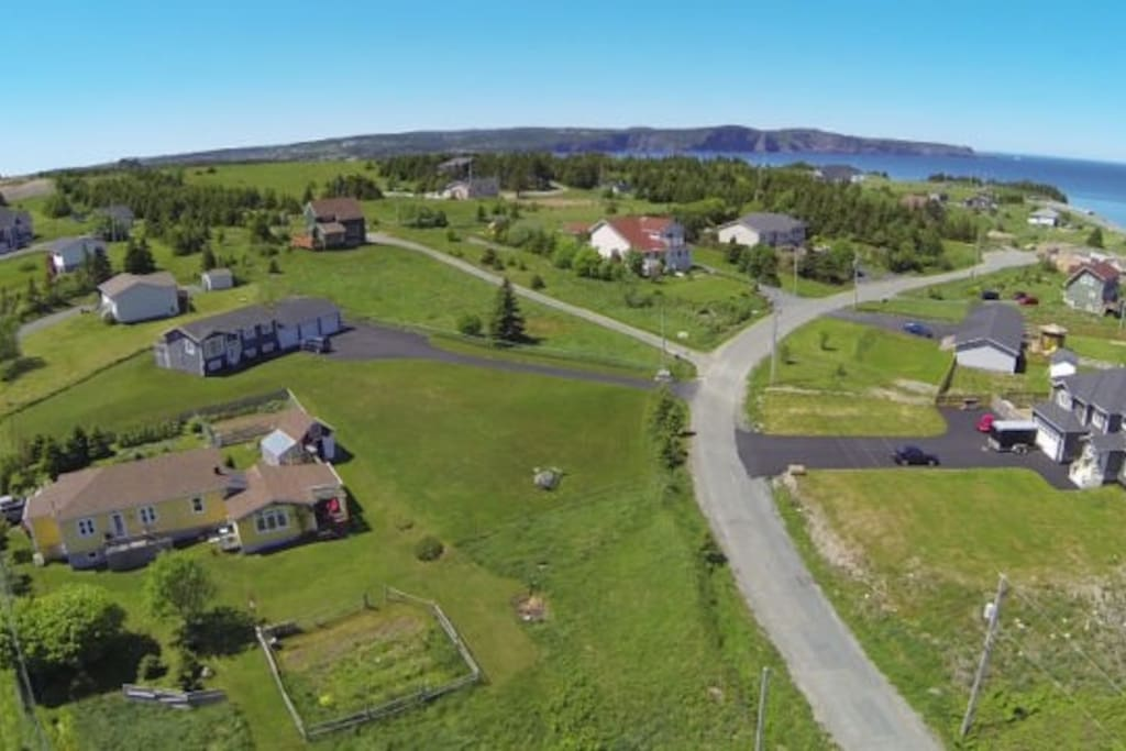 Situated in Outer Cove, this home is minutes away from the East Coast Trail on Doran's lane.