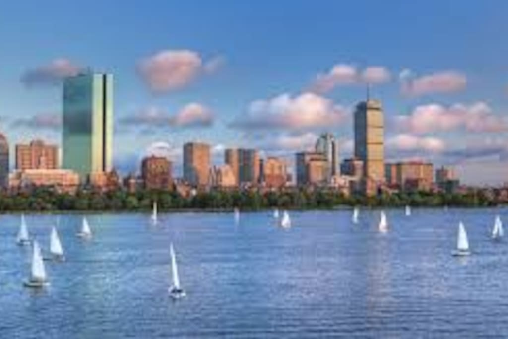 10 minute walk to the Charles River