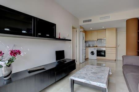 Appartement coquet + parking privé + Internet - Estepona