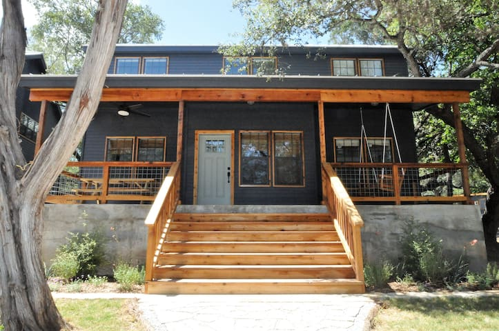 Loft Cabins on the Blanco River