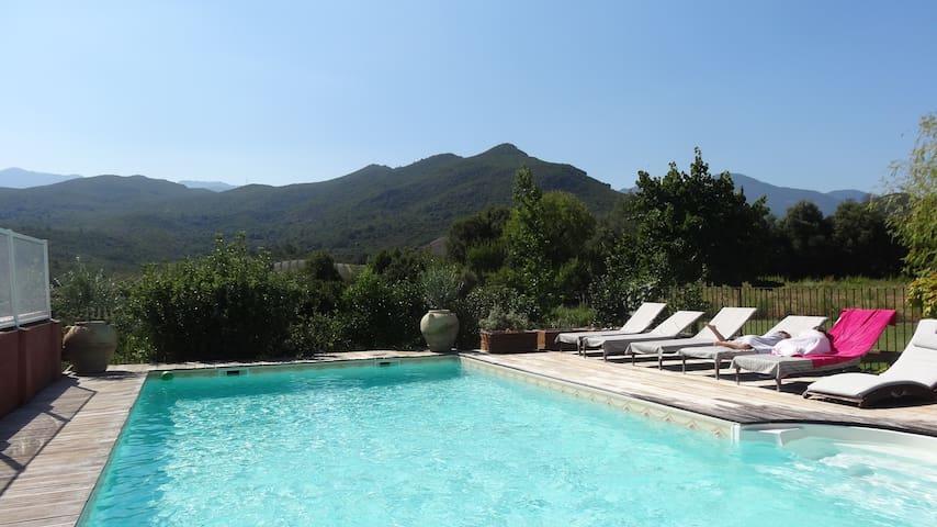 Superbe villa avec piscine - Ghisonaccia - Villa