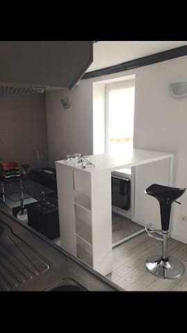 studio entier à 7min à pied de la place stan - Nancy - Appartement