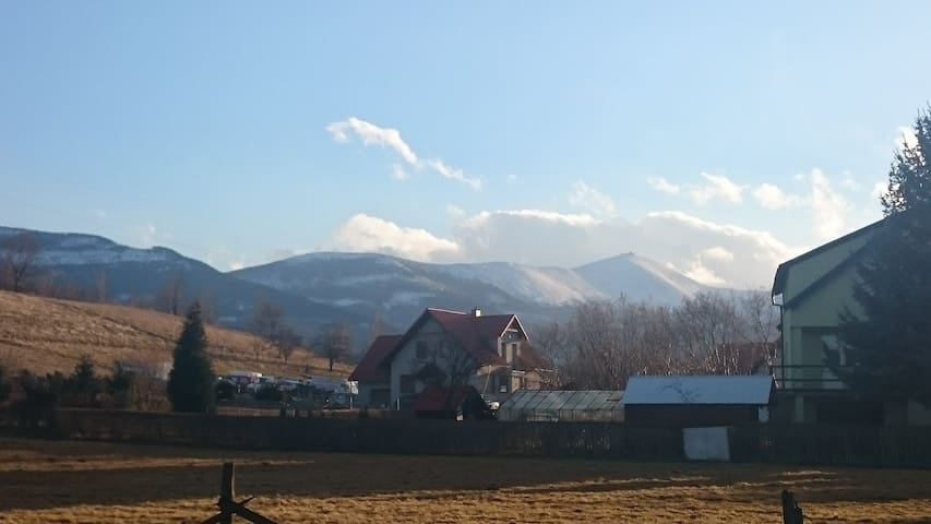 """Pan Tadeusz"" Rancho with amazing view. - Kostrzyca - อพาร์ทเมนท์"
