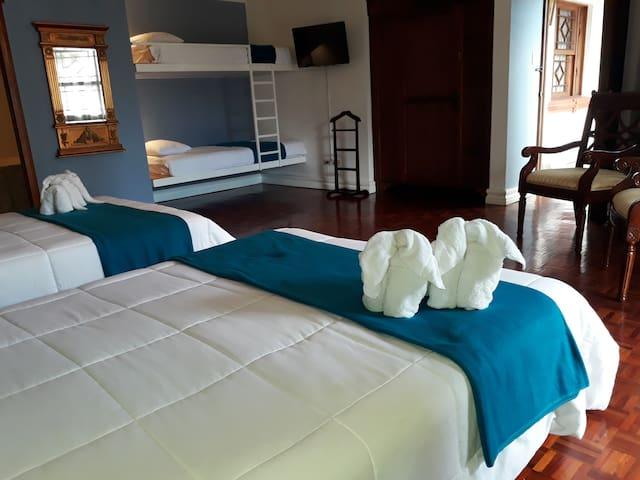 XL family room/ suite downtown San Jose - San Jose - Penzion (B&B)