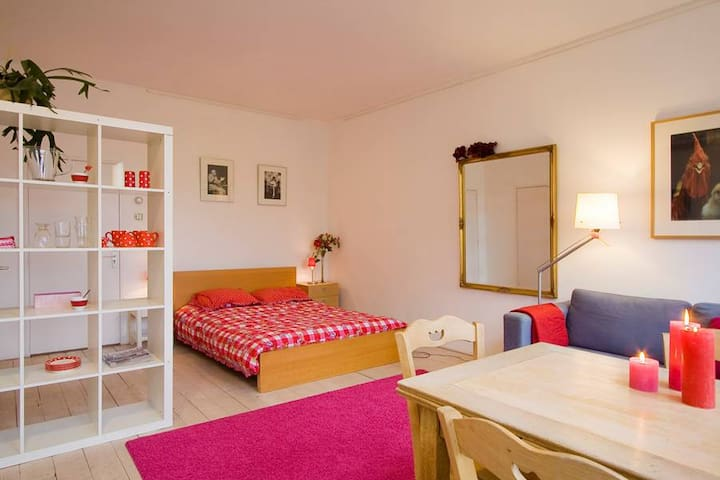 Quiet room with gardenview in outgoing area - Amsterdam - Casa a schiera