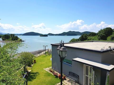 바다와 정원이  있는 감성 독채 별장 (Private garden & Ocean view)